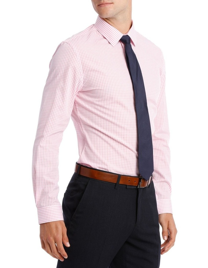 Slim Fit Hot Price Pink Check image 2