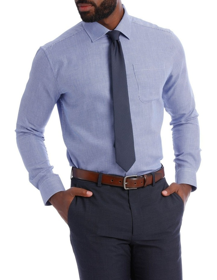 Navy Puppytooth Classic Fit image 1