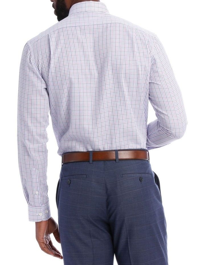 Grid Check Classic Fit Business Shirt image 3