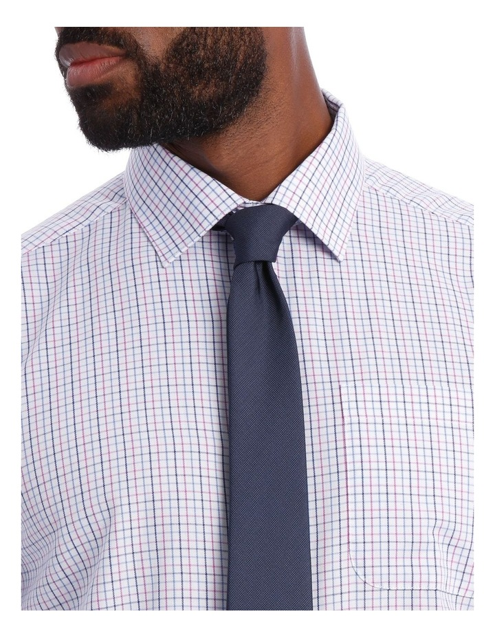 Grid Check Classic Fit Business Shirt image 4