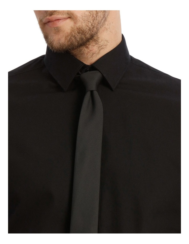 Tailored Fit Black Twill image 4