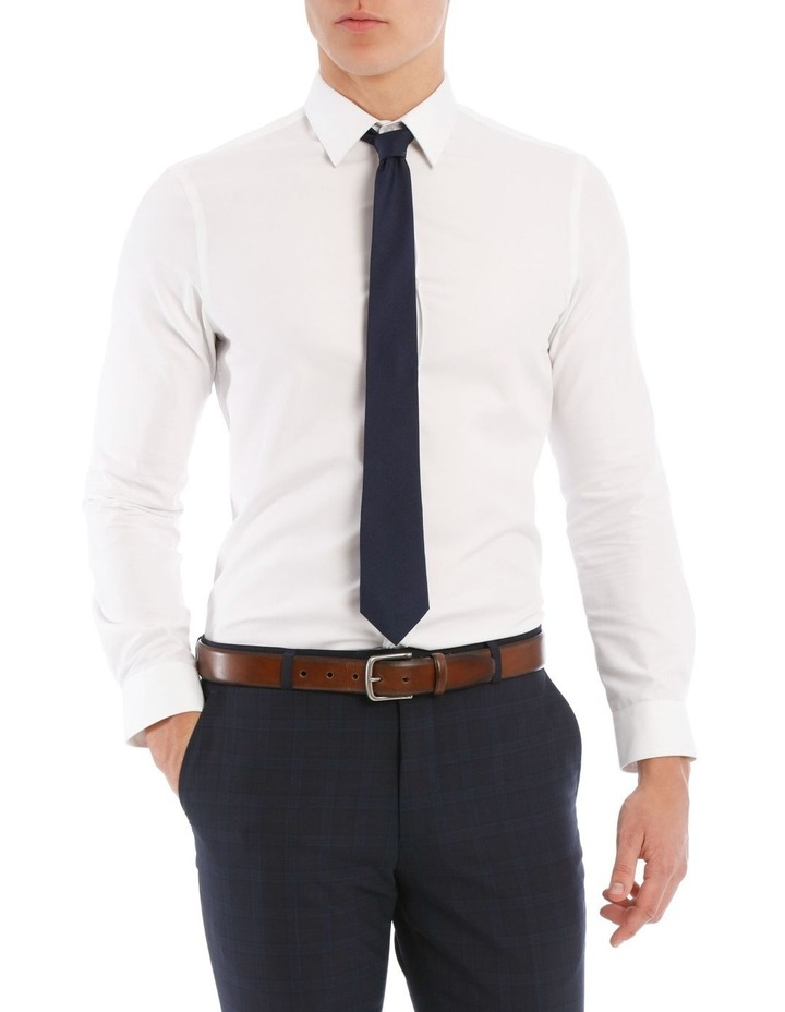Slim Fit White Twill image 1