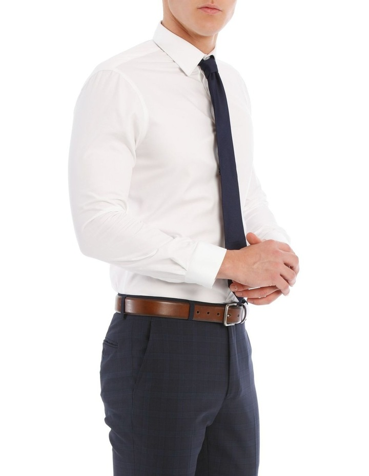 Slim Fit White Twill image 2