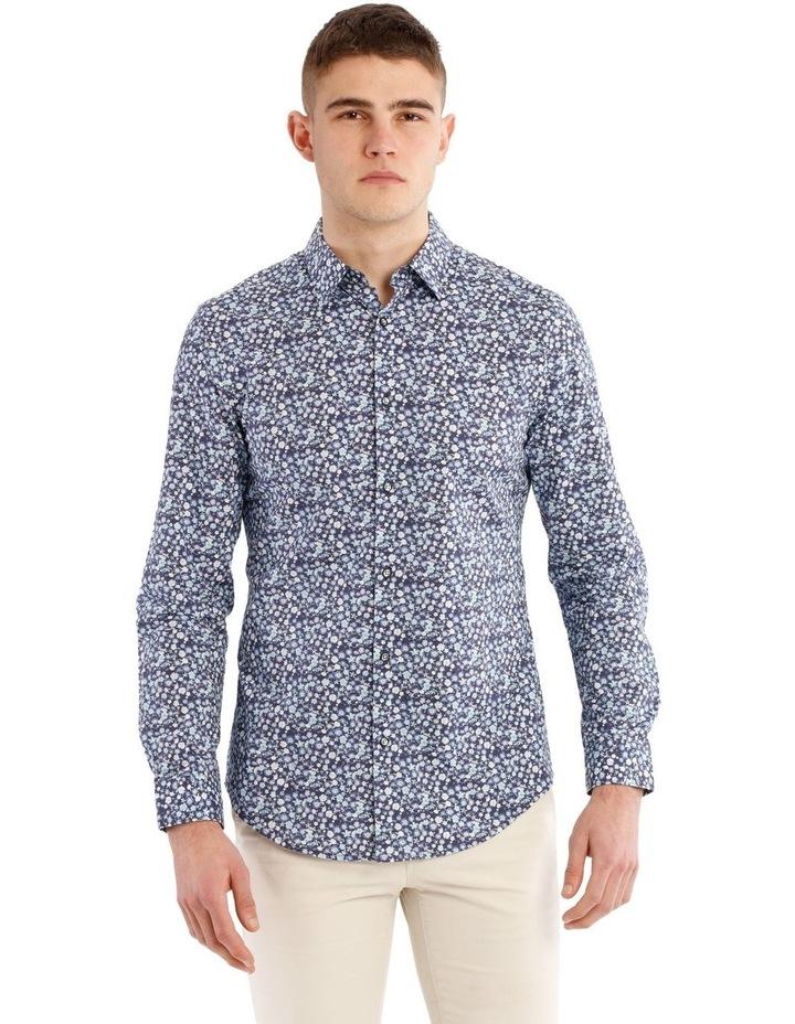 Slim Belvoir Printed Floral Long Sleeve Shirt image 1