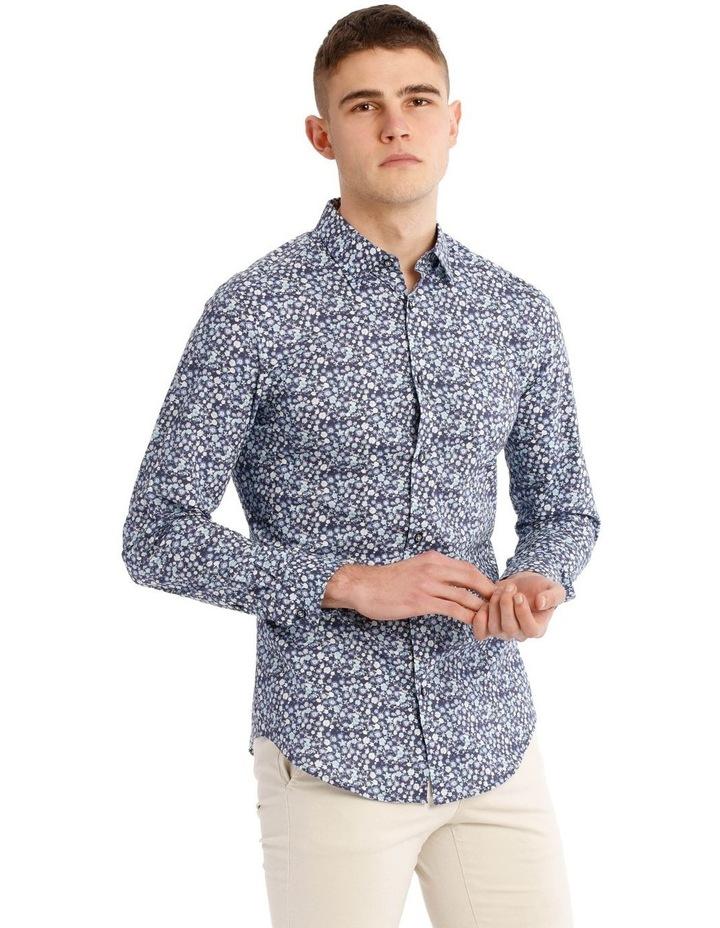 Slim Belvoir Printed Floral Long Sleeve Shirt image 2