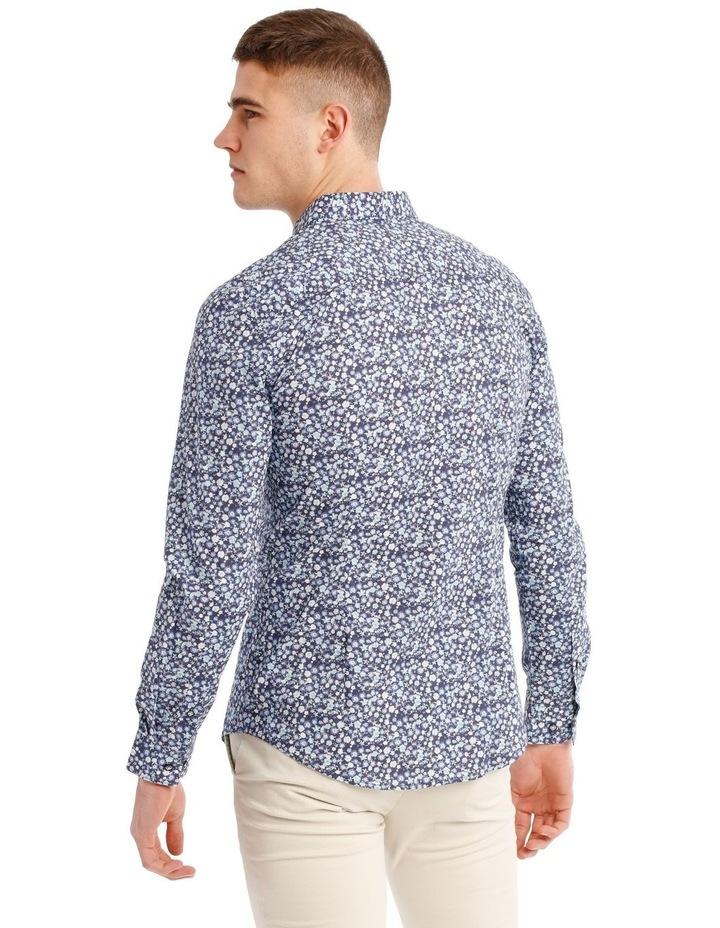 Slim Belvoir Printed Floral Long Sleeve Shirt image 3