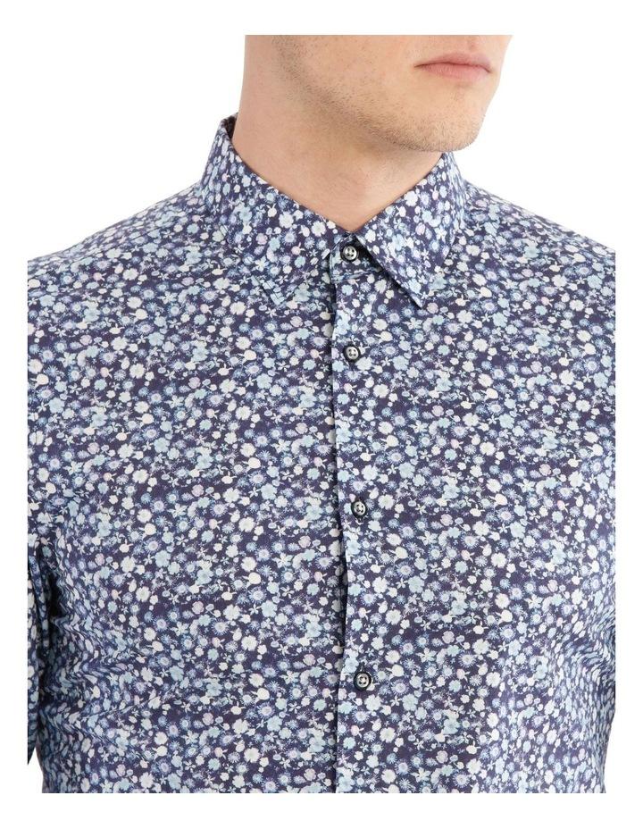 Slim Belvoir Printed Floral Long Sleeve Shirt image 4