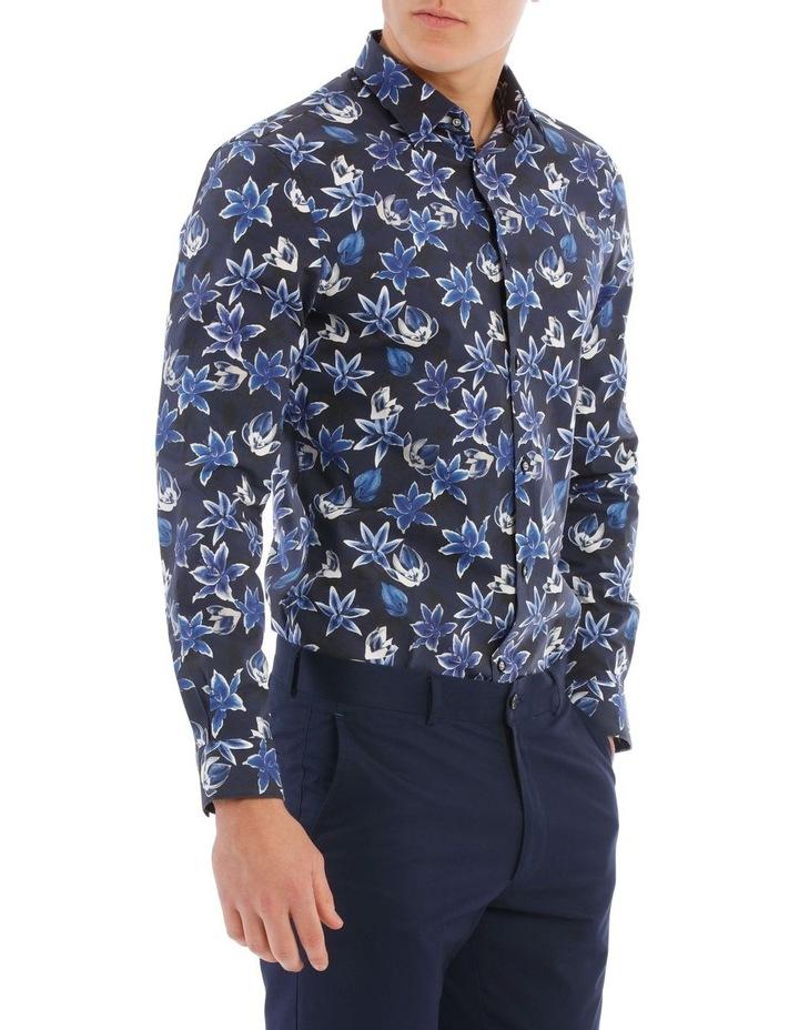 Minack Printed Floral Long Sleeve Shirt image 2