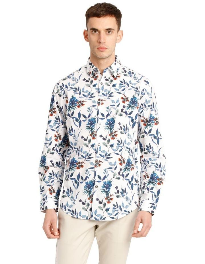 Manoel Printed Floral Long Sleeve Tailored Shirt image 1