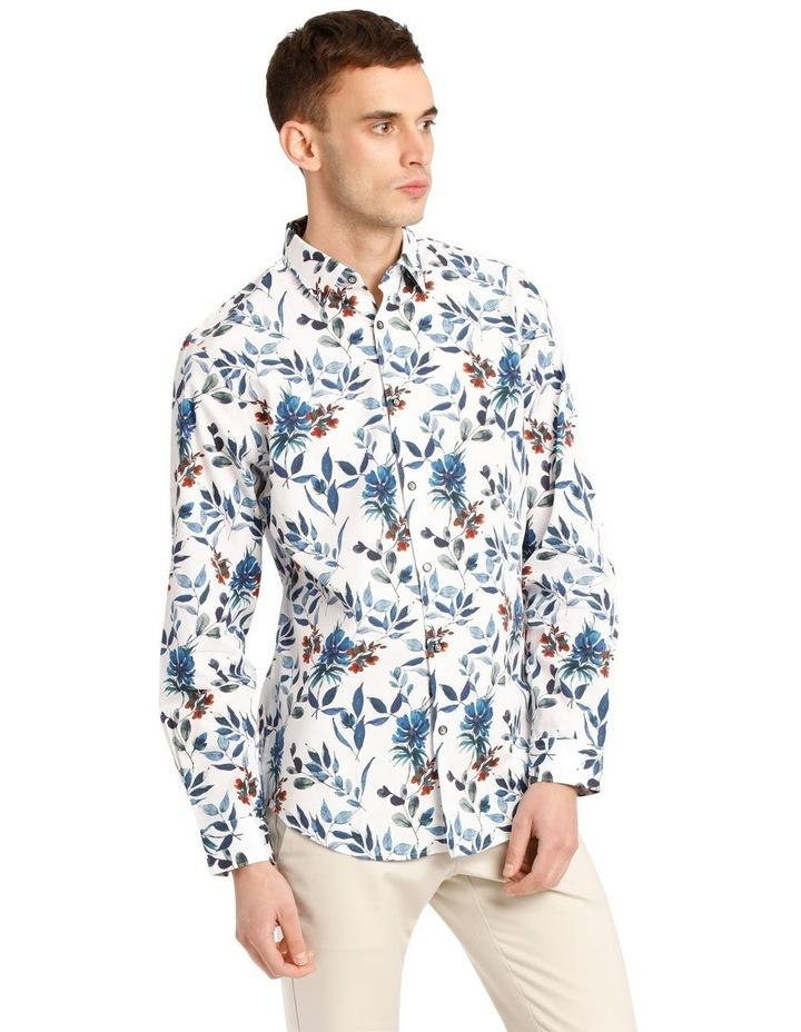 Manoel Printed Floral Long Sleeve Tailored Shirt image 2