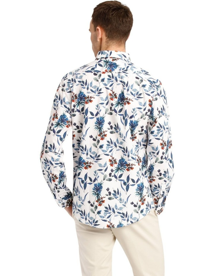 Manoel Printed Floral Long Sleeve Tailored Shirt image 3