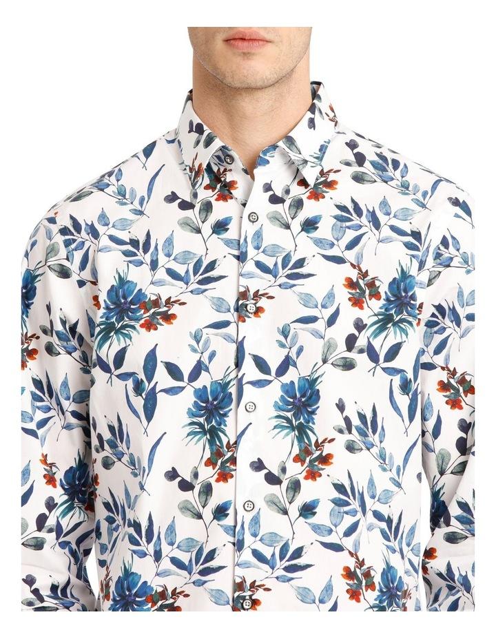 Manoel Printed Floral Long Sleeve Tailored Shirt image 4