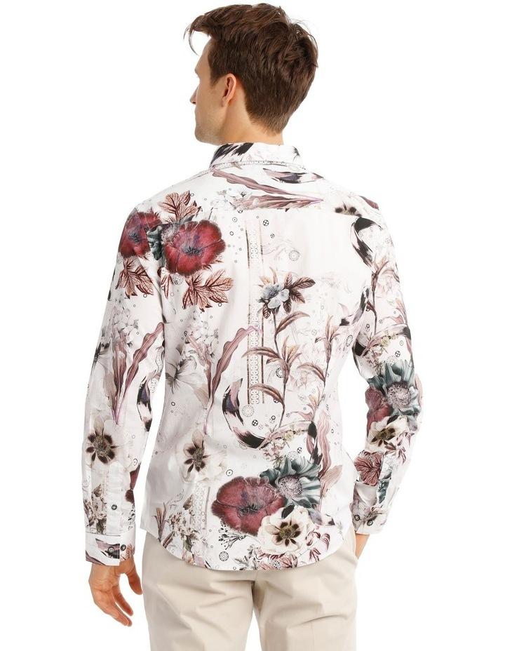 Mr Gatz Floral Print Long Sleeve Slim Fit Shirt image 3