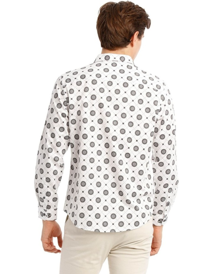 Wolfshem Graphic Print Long Sleeve Tailored Fit Shirt image 3