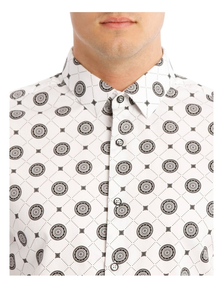Wolfshem Graphic Print Long Sleeve Tailored Fit Shirt image 4