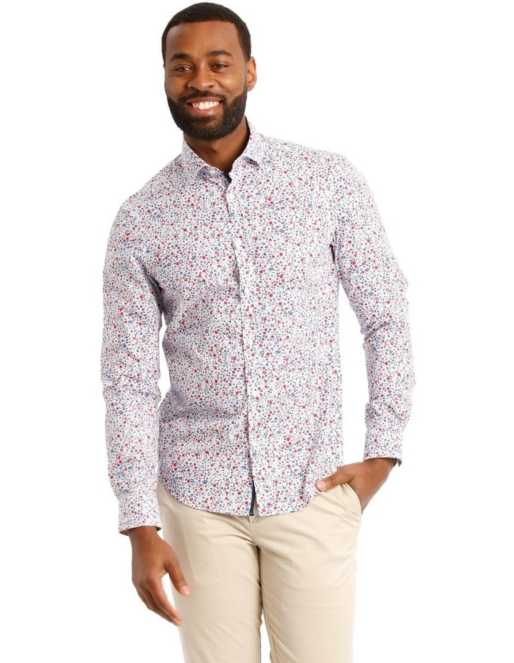 Austin Floral Printed Long Sleeve Shirt image 1