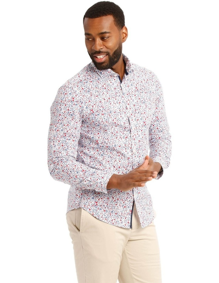 Austin Floral Printed Long Sleeve Shirt image 2