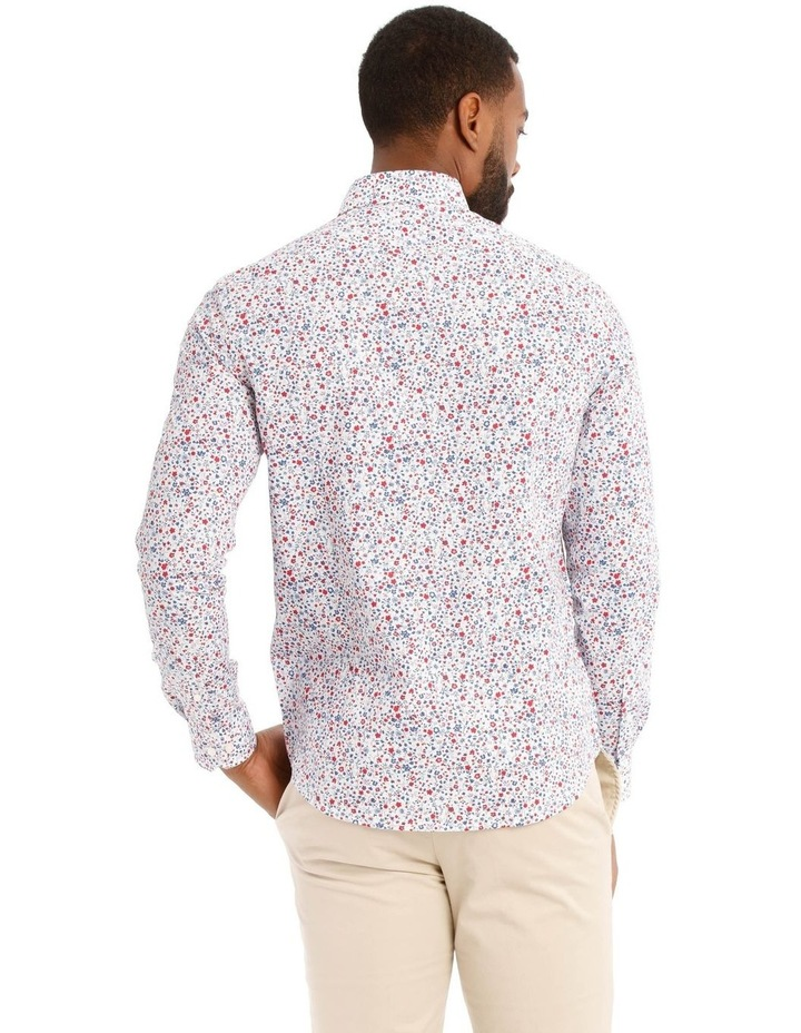 Austin Floral Printed Long Sleeve Shirt image 3
