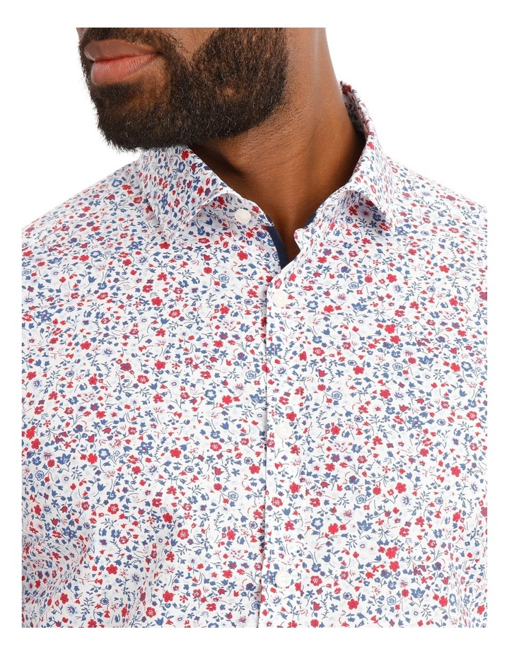 Austin Floral Printed Long Sleeve Shirt image 4