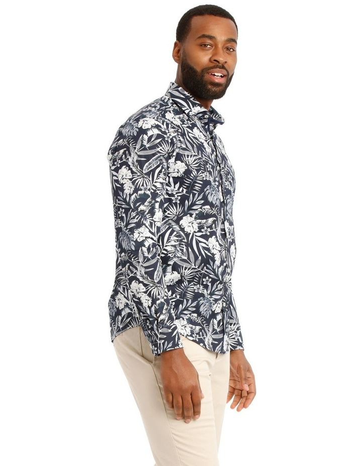 Casablanca Floral Printed Long Sleeve Shirt image 2