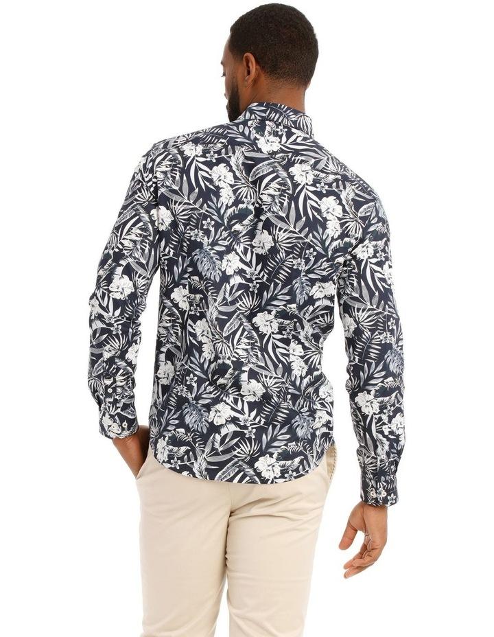 Casablanca Floral Printed Long Sleeve Shirt image 3