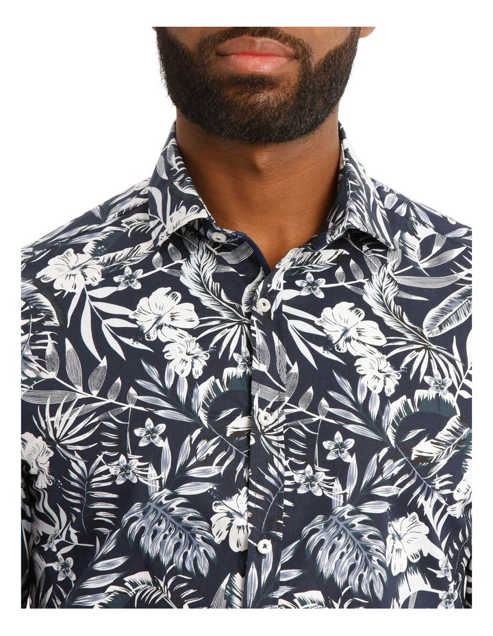 Casablanca Floral Printed Long Sleeve Shirt image 4