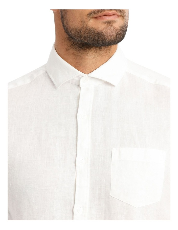 Dolce Linen Long Sleeve Shirt image 4