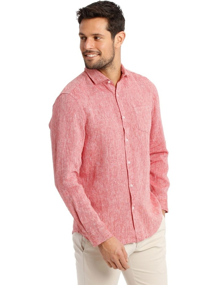 Dolce Linen Long Sleeve Shirt image 2