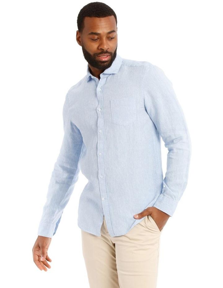 Dolce Linen Long Sleeve Shirt image 1