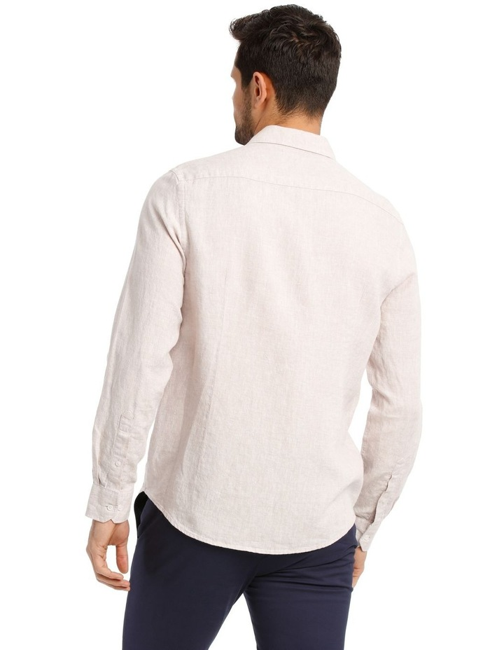 Dolce Linen Long Sleeve Shirt image 3