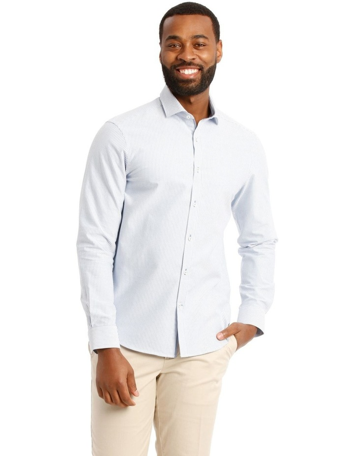 Trent Nathan Hoffman Stripe Long Sleeve Shirt