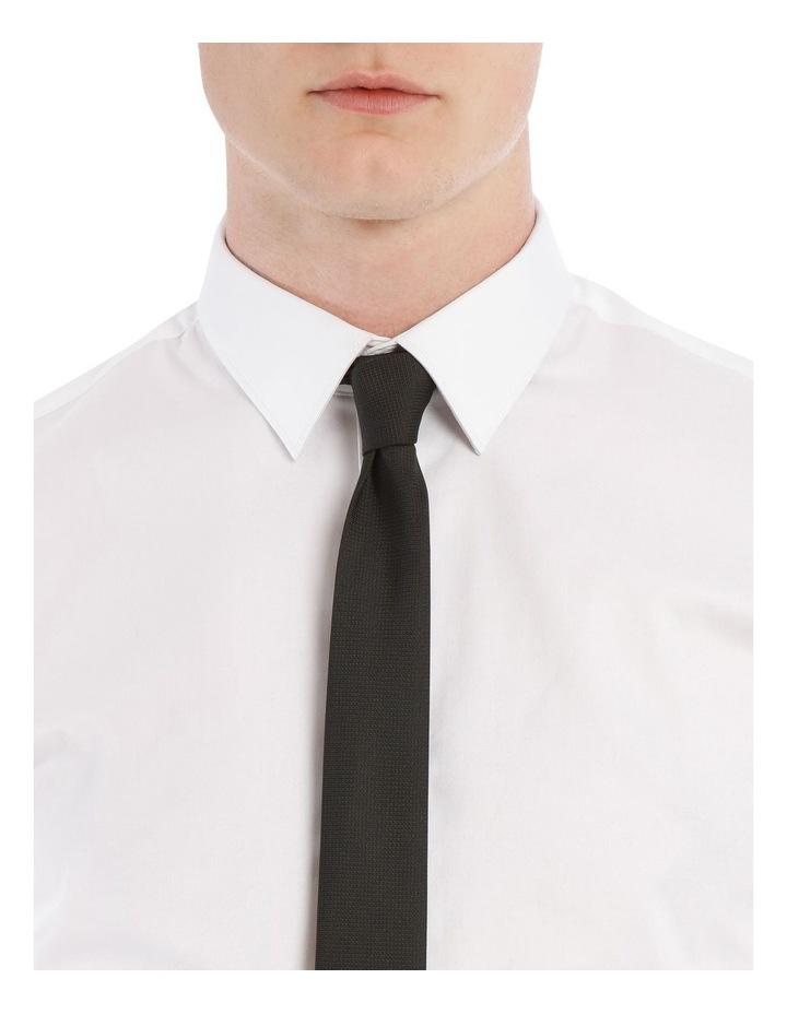 White Slim Stretch Shirt image 4