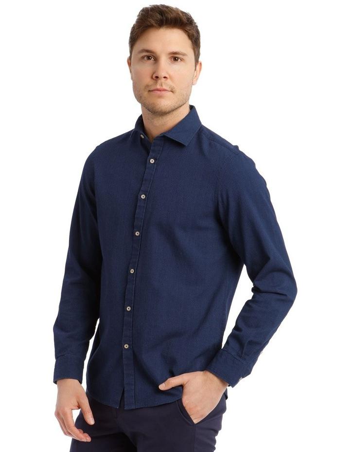 Brosnan Indigo Long-Sleeve Shirt image 2
