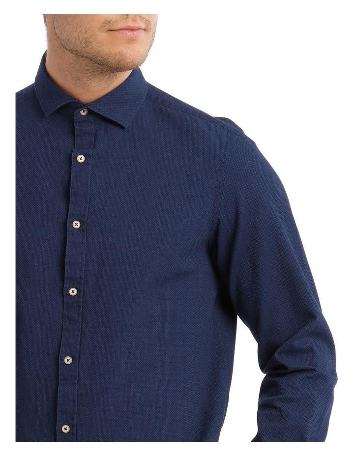 Brosnan Indigo Long-Sleeve Shirt image 4