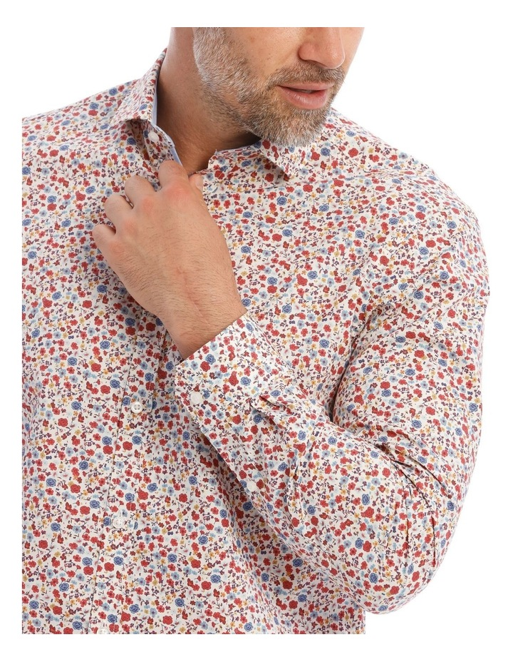 Hardy Floral Printed Ls Shirt image 4
