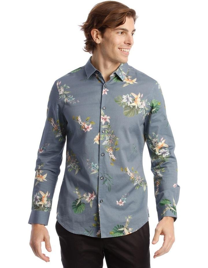 Floyd Printed Long Sleeve Slim Shirt image 1