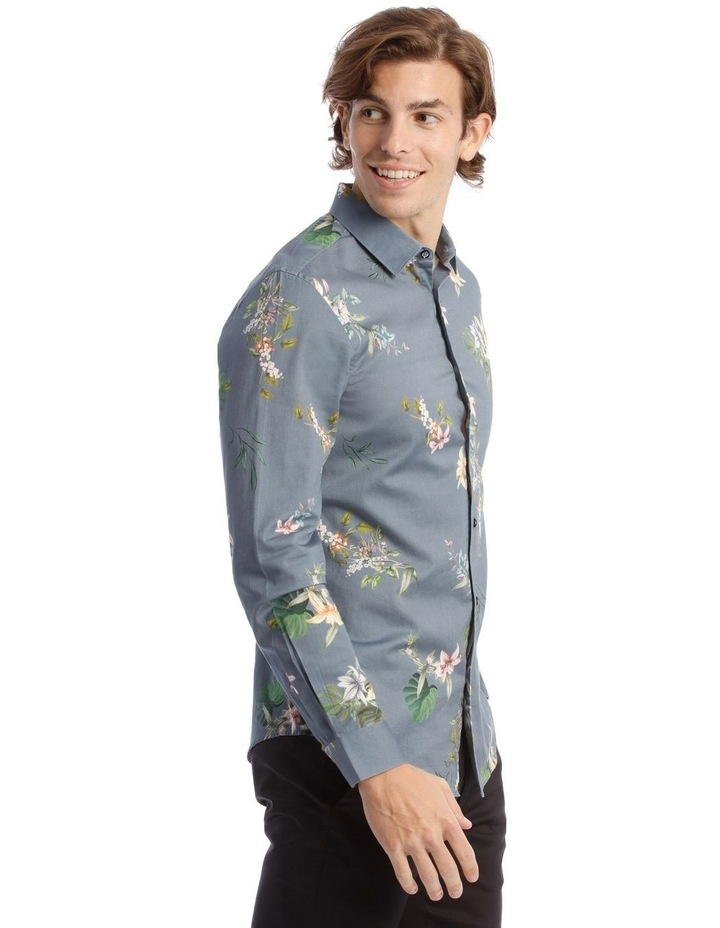 Floyd Printed Long Sleeve Slim Shirt image 2