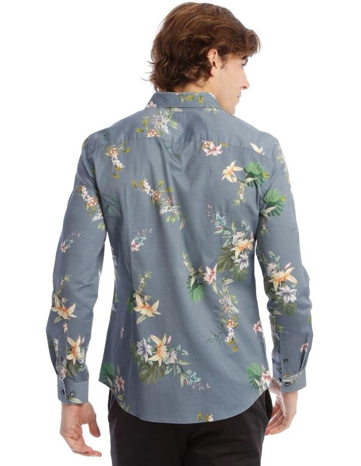 Floyd Printed Long Sleeve Slim Shirt image 3