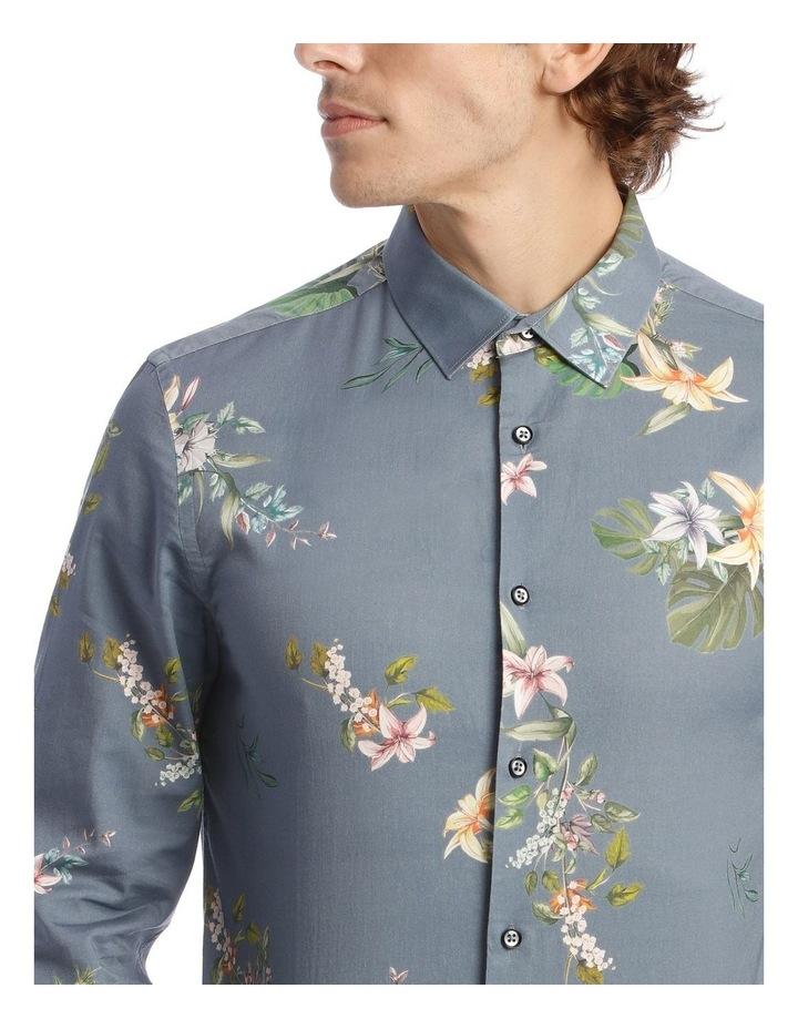 Floyd Printed Long Sleeve Slim Shirt image 4
