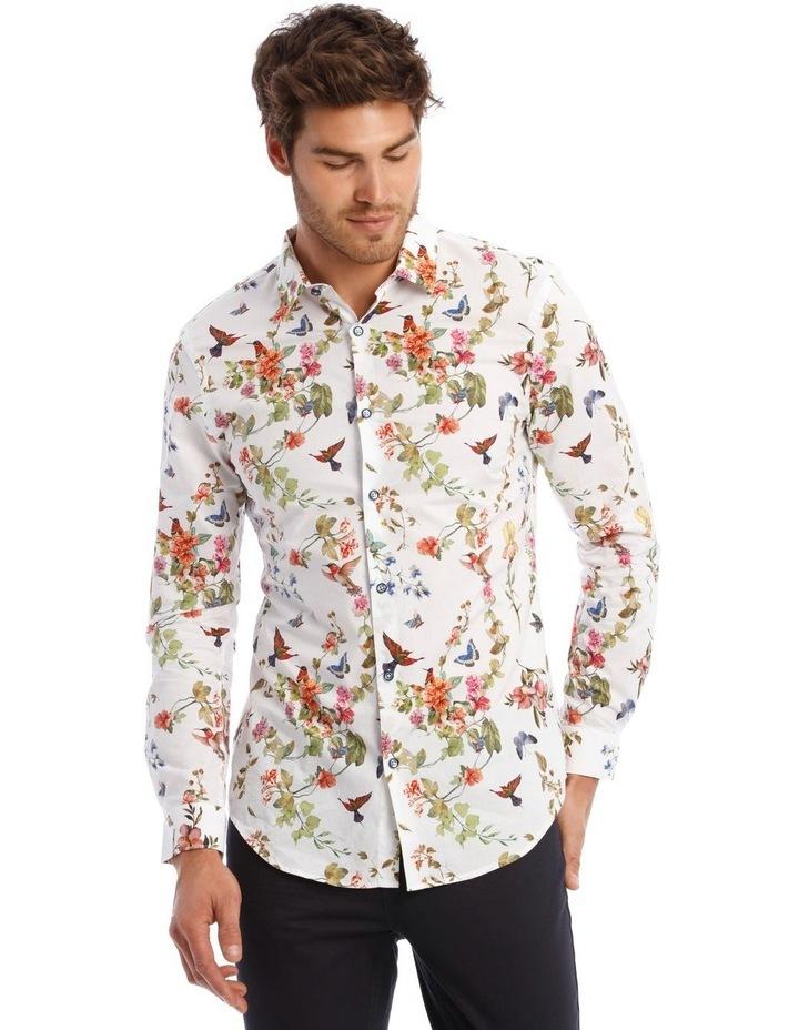 Wonder Printed Long Sleeve Slim Shirt image 1