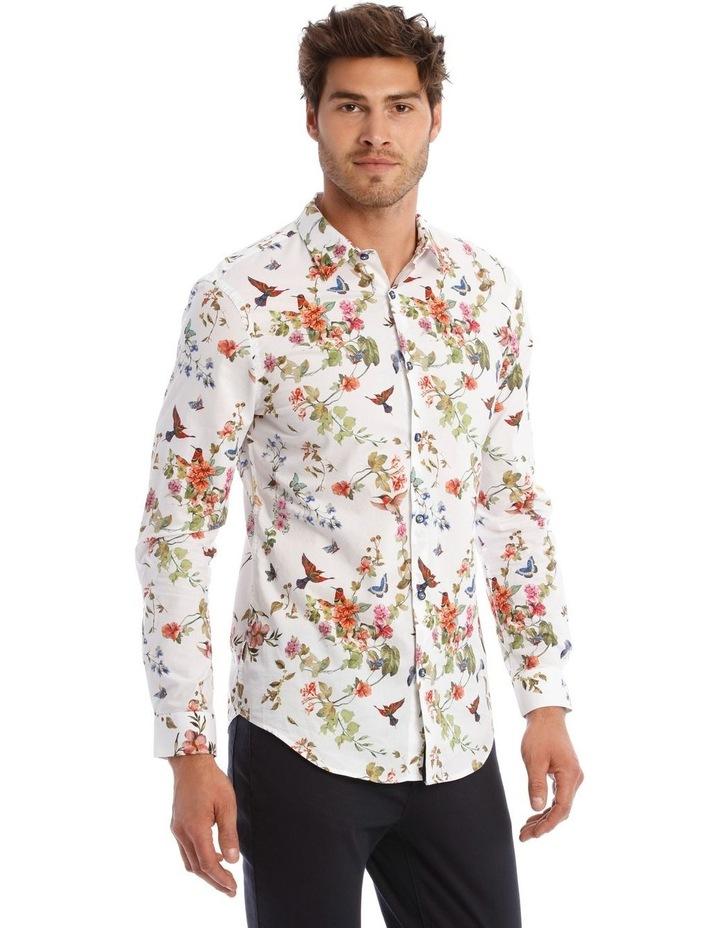 Wonder Printed Long Sleeve Slim Shirt image 2