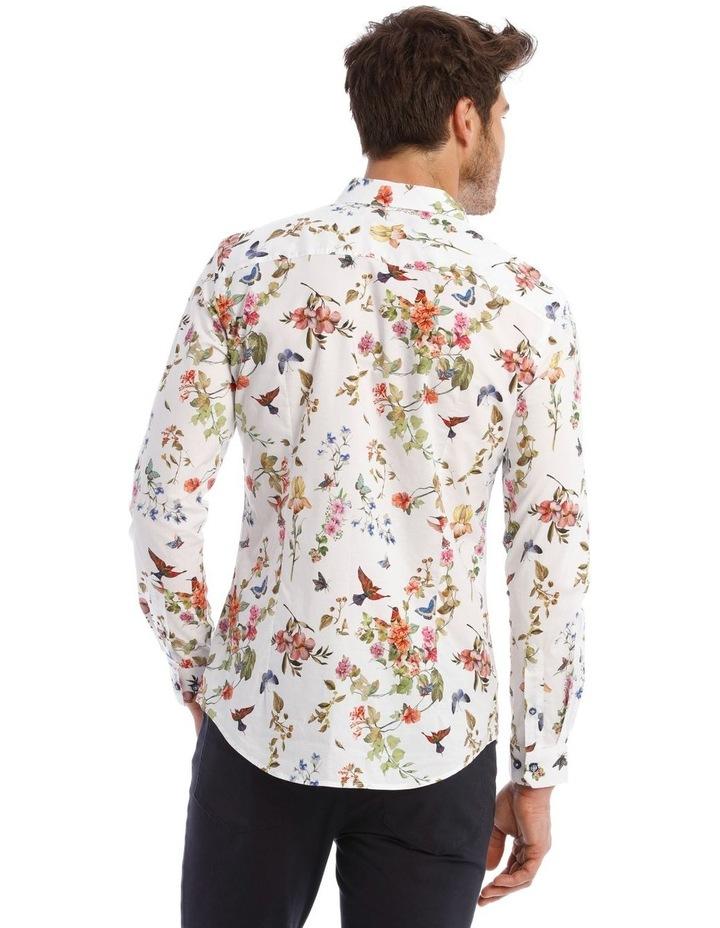 Wonder Printed Long Sleeve Slim Shirt image 3