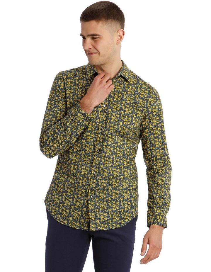 Bowie Printed Long Sleeve Slim Shirt image 1