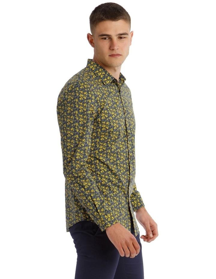 Bowie Printed Long Sleeve Slim Shirt image 2