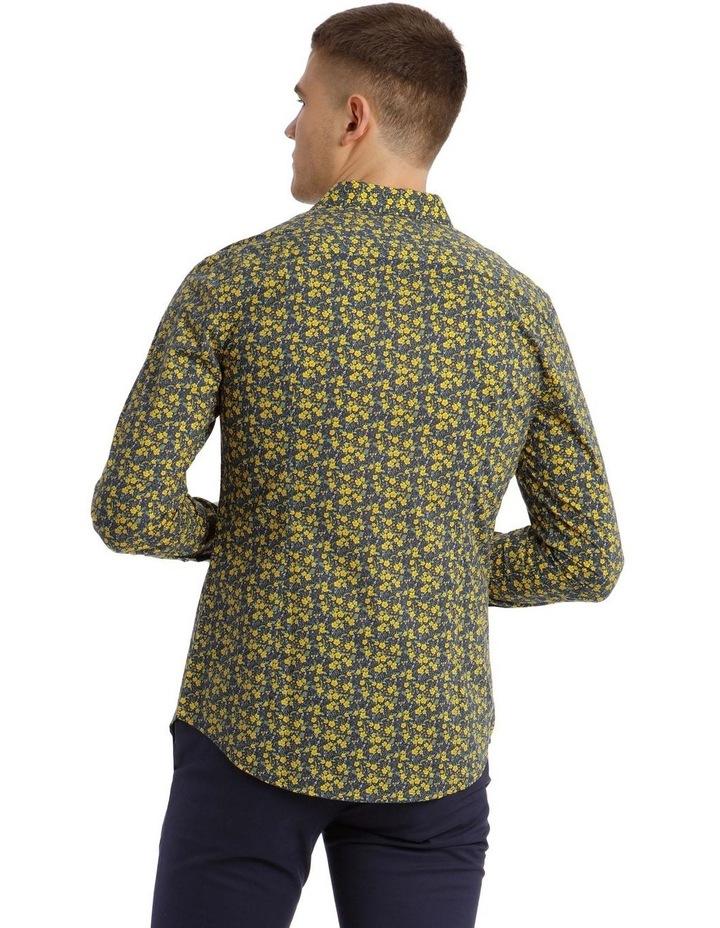 Bowie Printed Long Sleeve Slim Shirt image 3