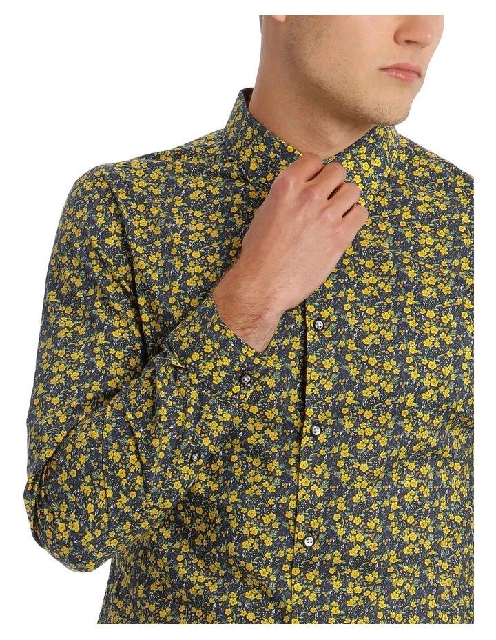 Bowie Printed Long Sleeve Slim Shirt image 4
