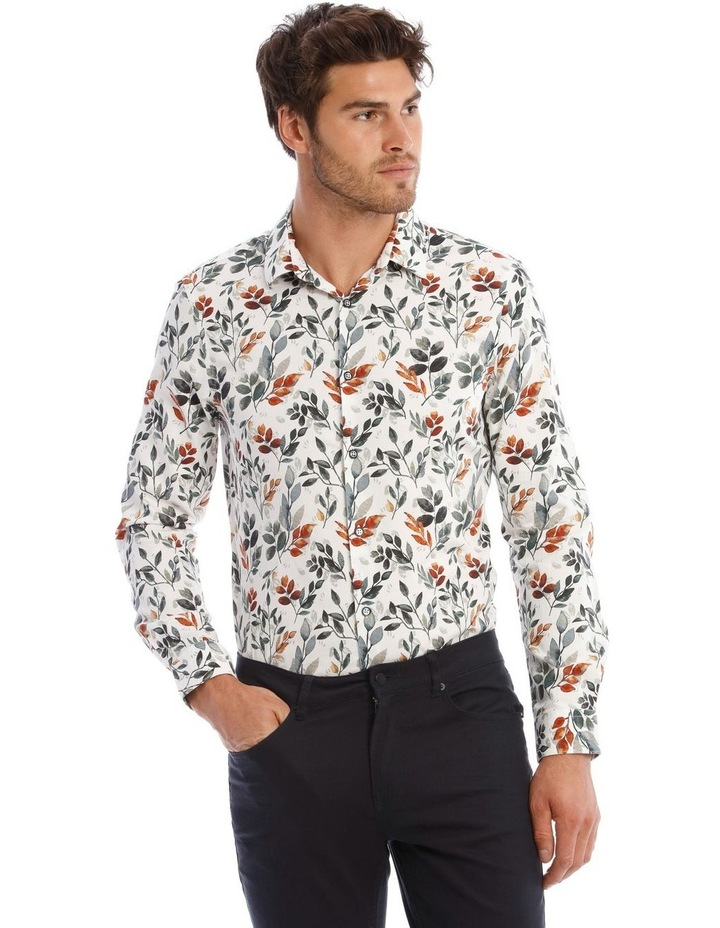 Leo Floral Long Sleeve Shirt image 1