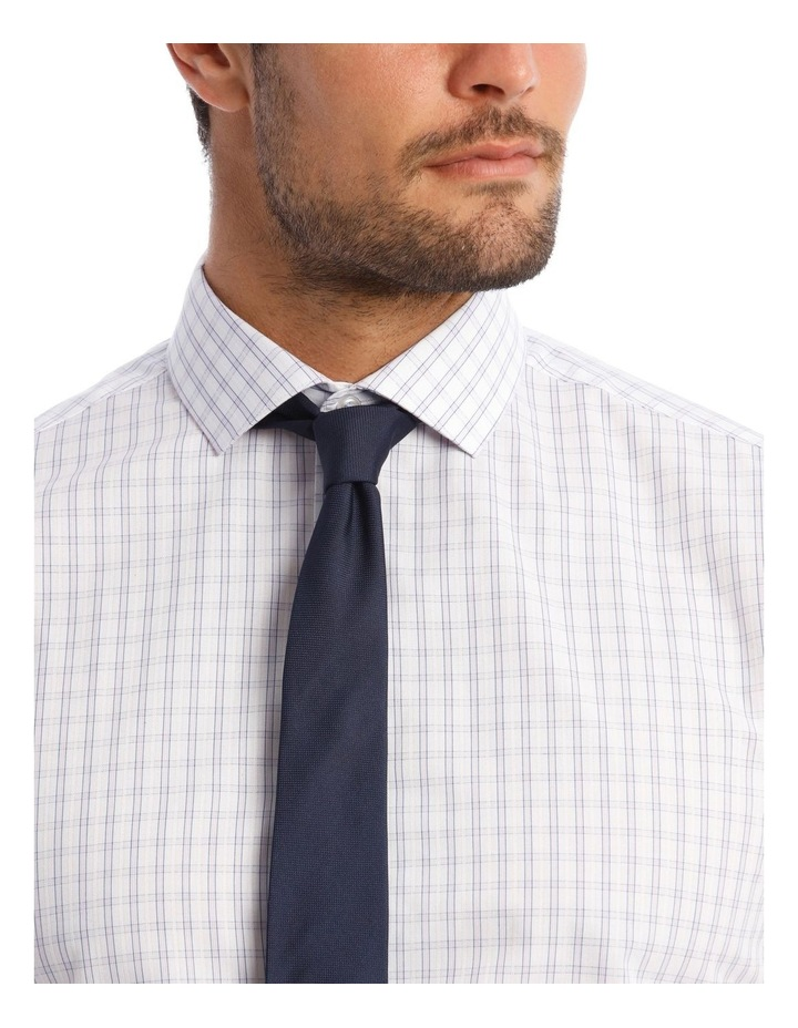 Tailored Purple Check Shirt image 4
