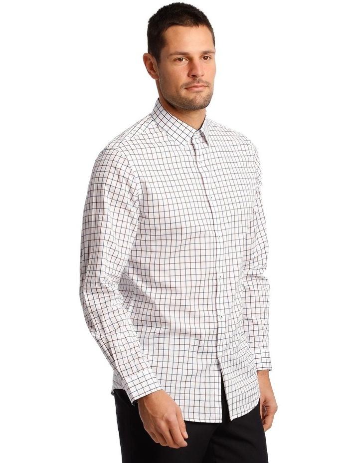 Tailored Window Check Long Sleeve Shirt image 4