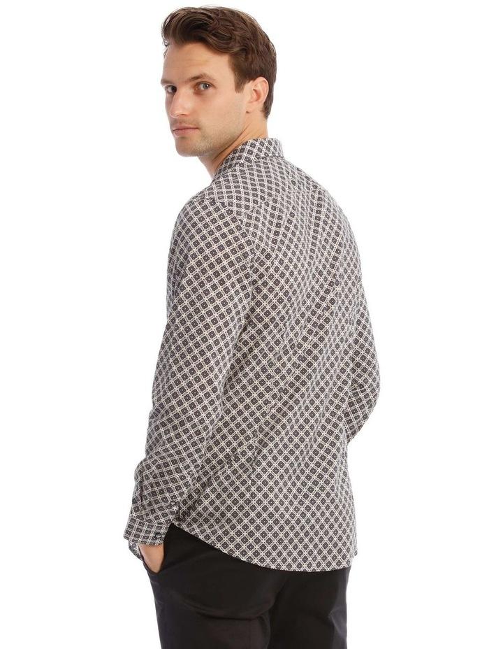 Lennie Geometric Slim Long-Sleeve Shirt image 3